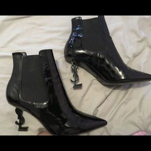 Ysl Opyum Booties size 39.5 AUTHENTIC !